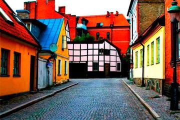 Buscando refugio en Lund, Suecia