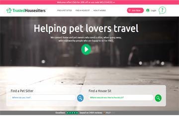 Como viajar gratis cuidando mascotas
