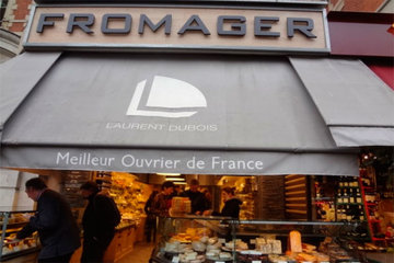 Laurent Dubois, los mejores quesos de Paris